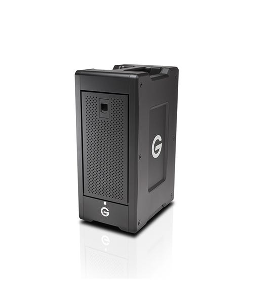 G-Technology 48TB G-SPEED Shuttle XL 8-Bay Thunderbolt 2 RAID Array Drive w/ Two ev Bay Adapters
