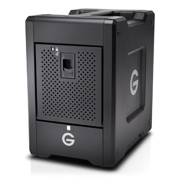 G-Technology 32TB G-SPEED Shuttle 4-Bay Thunderbolt 3 RAID Array Drive