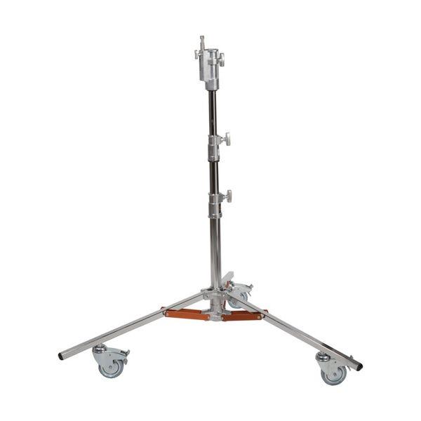 """Matthews Studio Equipment 6' 3"""" Low Boy Junior Rolling Steel Stand - Double Riser"""