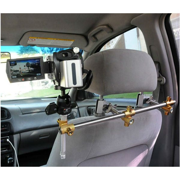 Headrest 494 - The Filmtools Headrest In-Car Camera Car Mount