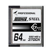 Hoodman 64GB CFAST 2.0 U3 4K 455Mb/S Memory Card