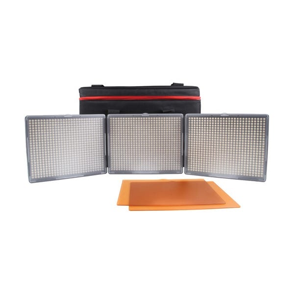 Aputure Amaran 3-Point 2-Daylight Spot, 1-Bi-Color Flood HR672 3-Light Kit