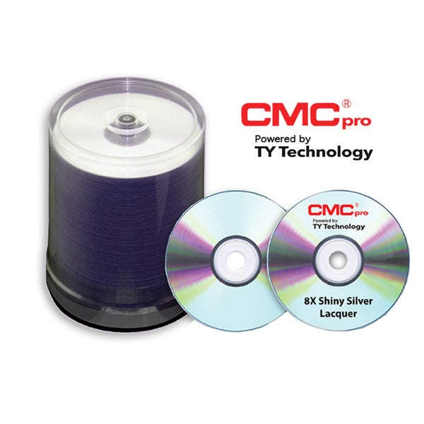 picture relating to Dvd R Printable referred to as CMC Qualified Taiyo Yuden 8X Silver Inkjet Printable DVD-R - 100computer