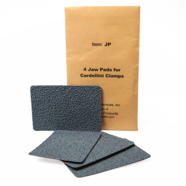 Cardellini Replacement Clamp Jaw Pads