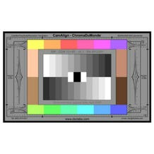 "DSC Laboratories ChromaDuMonde 12+4R Calibration Chart JWCDM12+4R (Junior 17"" x 10"")"