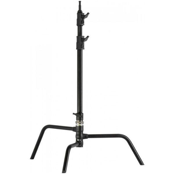 "Kupo 20"" Black Master C-Stand with Turtle Base"