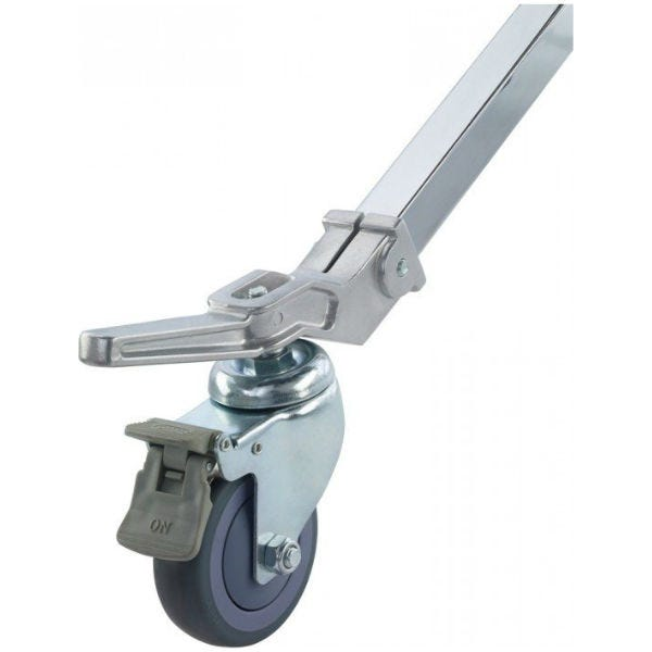 """Kupo 3-15/16"""" Caster with Brake and 1-3/16"""" Square Adapter Set of (3)"""