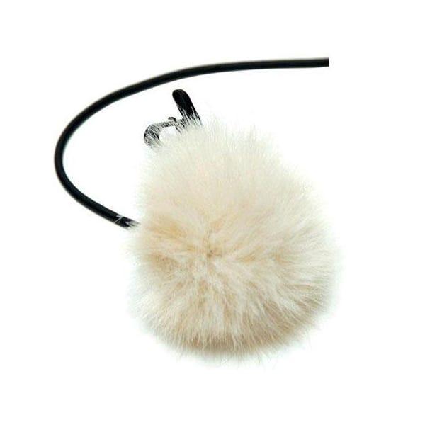 K-Tek Fuzzy Shower Cap for Lavalier Mic - Tan KLTFT