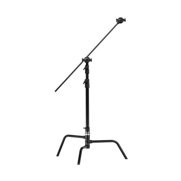 """Kupo 20"""" Master Black C-Stand with Turtle Base, Grip Head & Arm"""