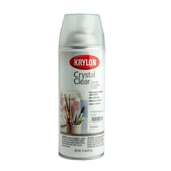 Krylon Crystal Clear Spray #1303 (Ground Only)