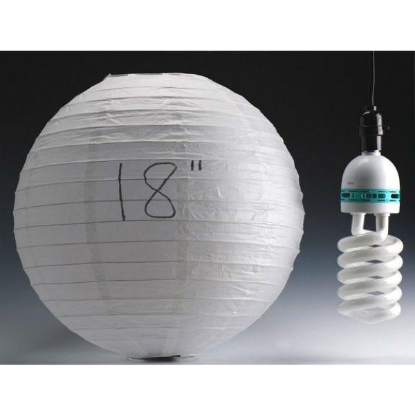 """Filmtools 18"""" White Paper China Ball"""