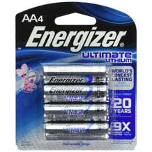 Energizer E2 AA Lithium Battery - 4 Pack