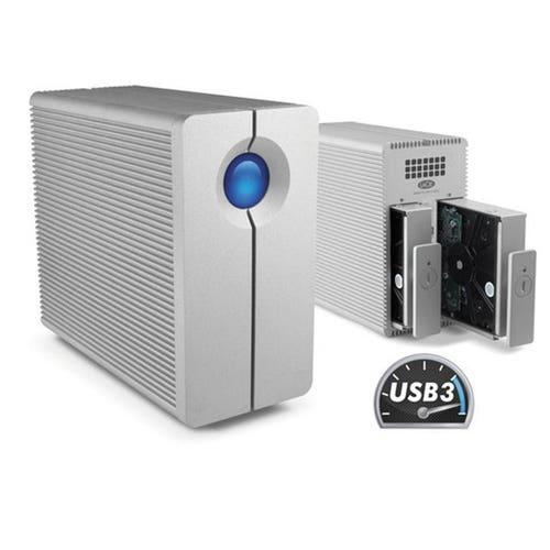 LaCie 2big Quadra USB 3.0 2-Bay RAID Array Drive (Various)