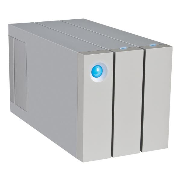 LaCie 12TB 2big Thunderbolt 2 Series USB 3.0 2-Bay RAID Drive