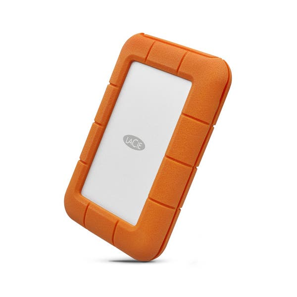 LaCie 4TB Rugged Thunderbolt USB-C Portable Hard-Drive