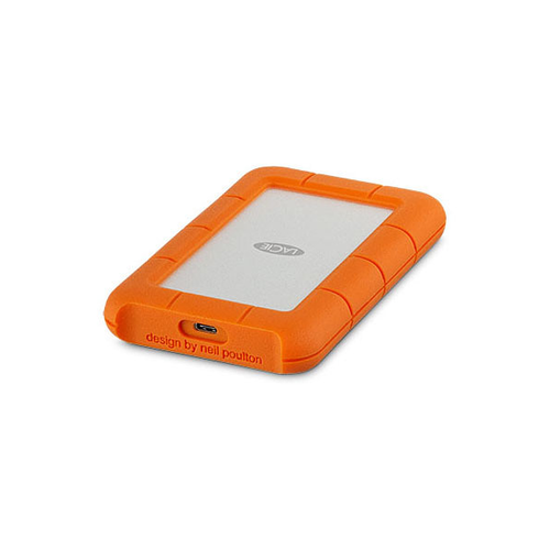 LaCie 4TB Rugged USB 3.0 Type-C External Hard Drive