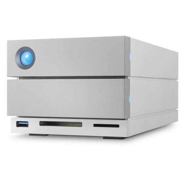 LaCie 12TB 2big Dock Thunderbolt 3 Dual-Disk RAID Drive
