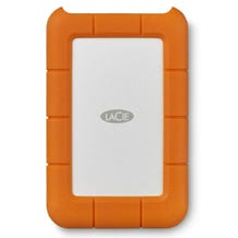LaCie 2TB Rugged Secure Hardware Encrypted Portable Hard Drive