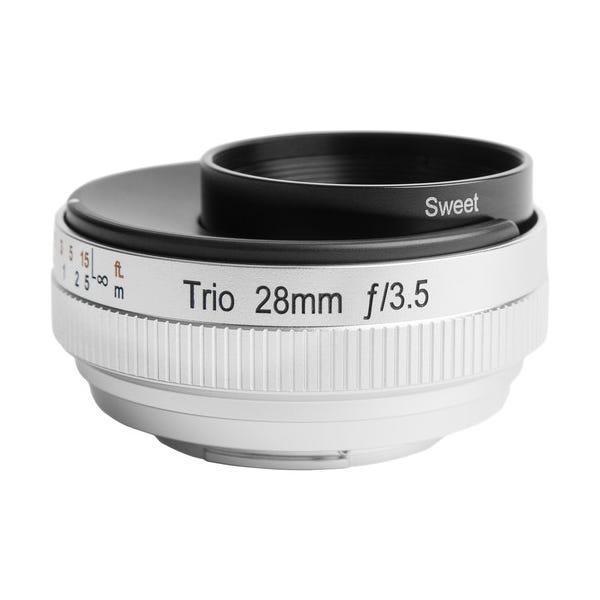 Lensbaby Trio 28mm f/3.5 Lens for Micro Four Thirds