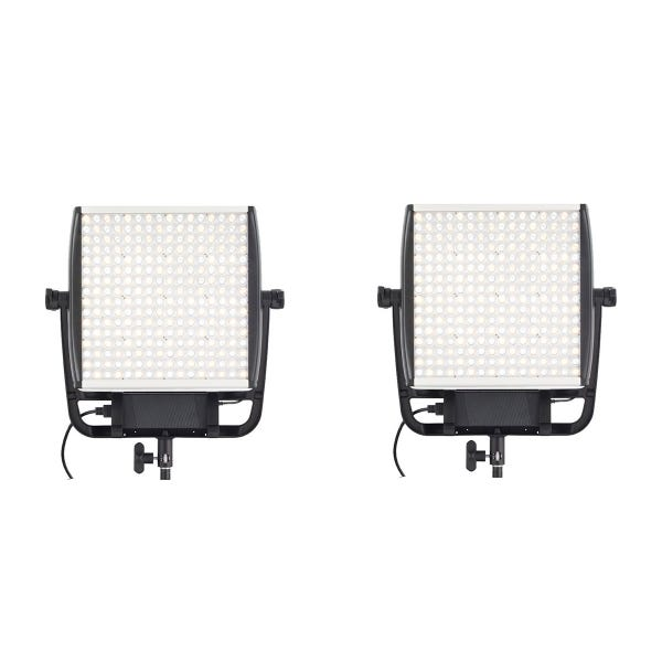 Litepanels Astra E 1x1 Daylight LED Panel 2-Light Bundle