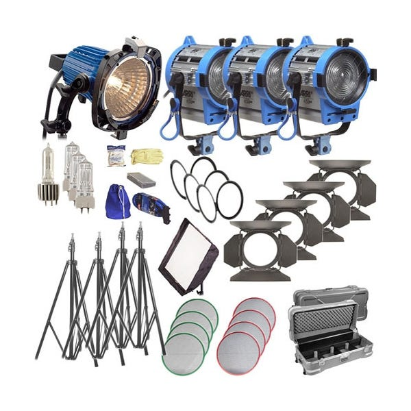 ARRI Softbank II Plus 4 Light Kit - 120V AC