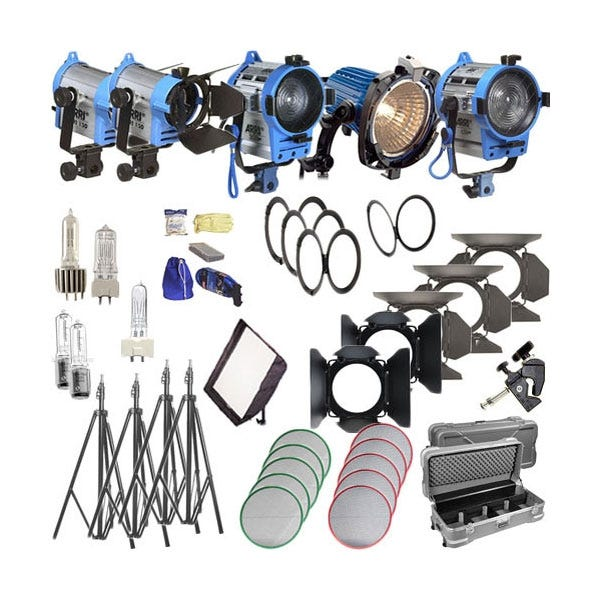 Arri Softbank IV Plus 5 Light Kit - 120V AC