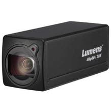 Lumens 4Kp60 Box Cam 30x Opticial Zoom - Black