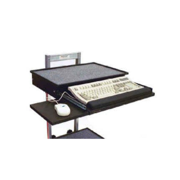 Vertical Cart Keyboard Tray & Mouse Pad MAG-01-VKB