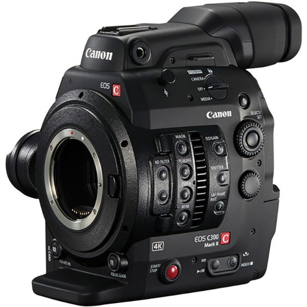 Canon EOS C300 MK II Cinema Camera
