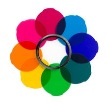 Manfrotto Lumie Series Accessory Multicolor Filter Kit