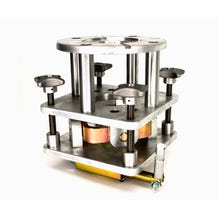 Modern Mitchell 4-Way Leveling Head for Bazooka Stand