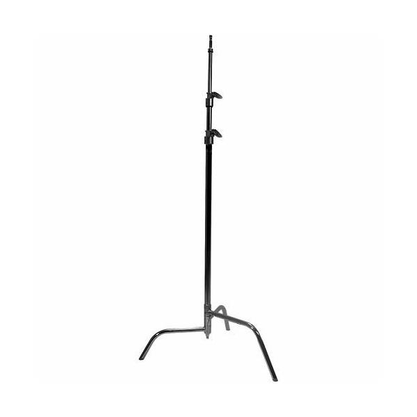 "Matthews Studio Equipment 40"" Black C-Stand with Spring Loaded Base"