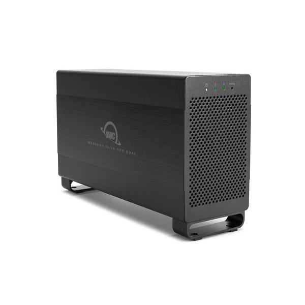 OWC 16TB Mercury Elite Pro Dual 2-Bay Thunderbolt 2 RAID Array