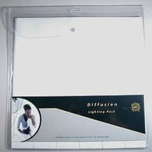 "LEE Filters 10 x 12"" Diffusion Filter Sheet Lighting Filter Sheet Pack - 12 Sheets"