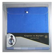 """LEE Filters 10 x 12"""" Tungsten to Daylight Lighting Filter Sheet Pack - 12 Sheets"""