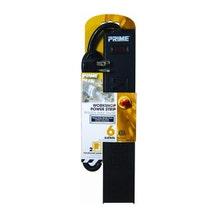 Prime Wire 6-Hole Power Strip w/Breaker 3' Cord