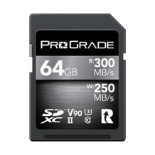 ProGrade Digital SDXC UHS-II V90 Memory Card - 128GB