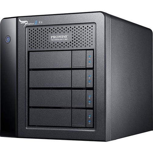 Promise Technology 12TB Pegasus2 R4 Thunderbolt 2 RAID Storage Array