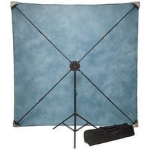 Studio Assets PXB Pro 8 x 8' Portable X-Frame Background System