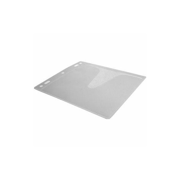 Polyline CD Binder Sleeve 90195 - 2- or 3-Ring Binders - Clear White Fabric Liner - Polypropylene - No Flap