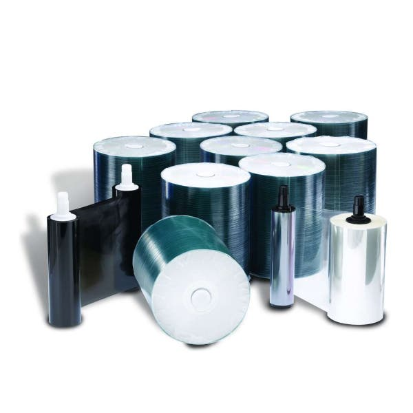 Rimage DVD-R 16X Media Kit Everest I/II/III - 1000 DVDs, 1 Black Ribbon, 2 Retransfer Rolls