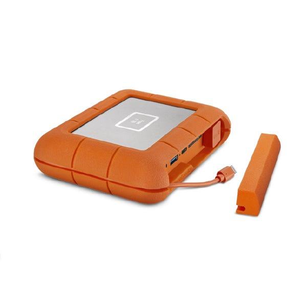 LaCie 1TB BOSS Rugged SSD Thunderbolt 3 External Drive