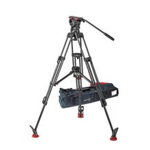 Sachtler 1043 Tripod System with FSB 10 Head, ENG 2 CF Tripod, Mid-Level Spreader, and Padded Bag ENG 2
