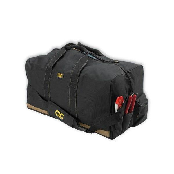 "CLC 24"" All Purpose Construction Gear Bag w/ Outside Pockets"