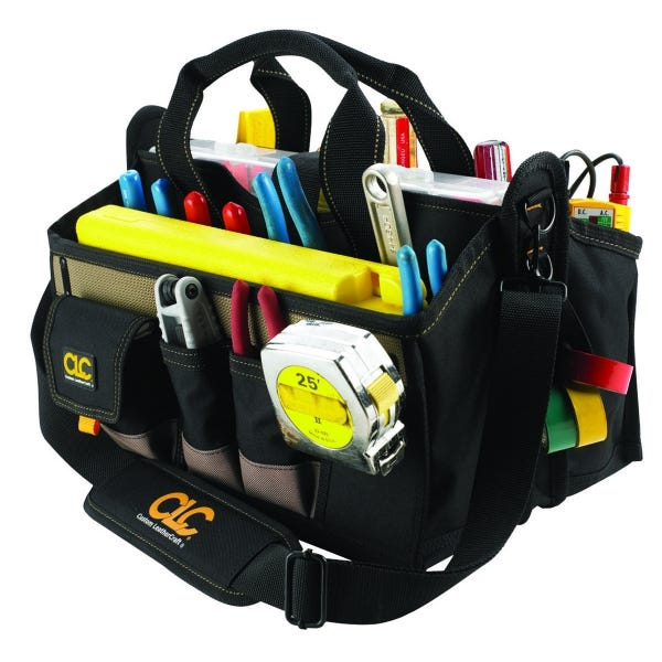 "CLC 16 Pocket 16"" Center Tray Tool Bag"