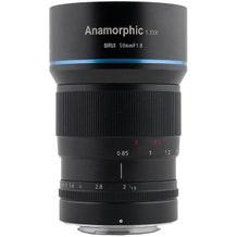 Sirui 50MM 1.8 Anamorphic Lens - Fujifilm X Mount APS-C 1.33x Squeeze