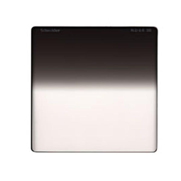 "Schneider Optics 4 x 4"" Graduated Neutral Density (ND) 0.6 Water-White Glass Filter - Soft Edge"