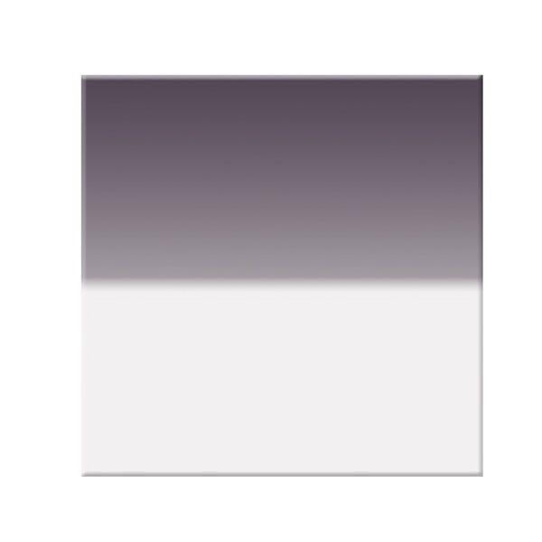 "Tiffen 6.6 x 6.6"" Hard Edge Graduated Neutral Density (ND) 0.6 Filter"