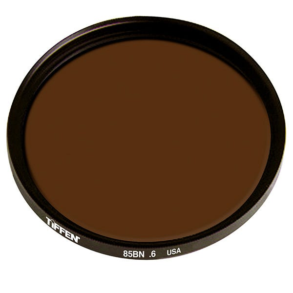 "Tiffen 4.5"" 85B Neutral Density (ND) 0.6 Glass Filter"