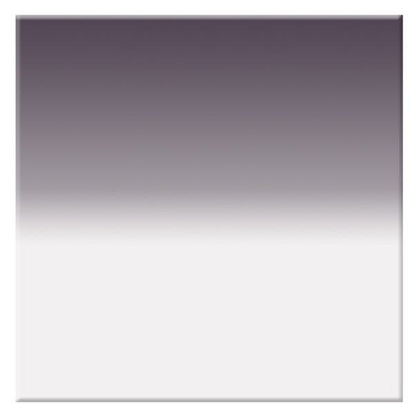"Tiffen 4 x 4"" Soft Edge Graduated Neutral Density (ND) 0.6 Filter"